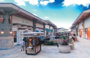 Views of the expanded Ala Moana Center.
