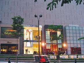 The new Versace store in Kuala Lumpur.