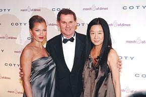 Vanessa Williams, Bernd Beetz and Vera Wang.