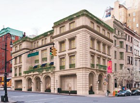 A rendering of the new Ralph Lauren flagship at 888 Madison Avenue.