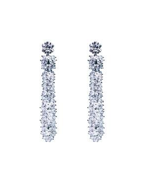 Montblanc diamond earrings.