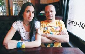 Yael Naim and David Donatien
