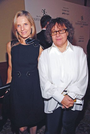 Sandy Brant and Ingrid Sischy