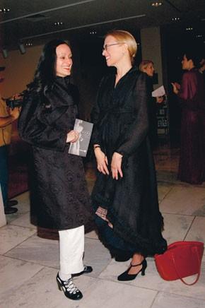 Isabel Toledo and Valerie Steele