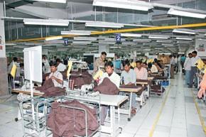 One of Orient Craft's factories.