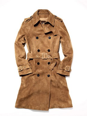 A Coach trenchcoat by Reed Krakoff and Phillip Lim.