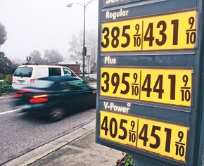 Skyrocketing gas prices are taking a toll on consumers' wallets.