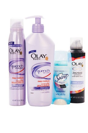 Some of Procter & Gamble's products.