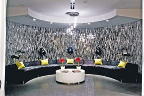 Inside Kim Vo's Las Vegas salon.