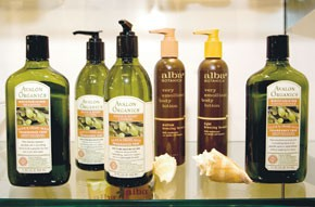 Alba and Avalon Organics items