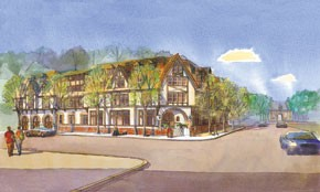 The Bohemian Hotel at Biltmore Village will open this fall near the Biltmore Estate in Asheville, N.C.