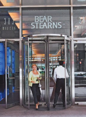 Bear Stearns could lay off 5,000 New York City employees.