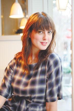 Eva Amurri at Cafe Cluny.