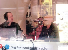 Neighborhood public radio's studio sits two doors south of the Whitney Museum, in a former Christian Louboutin boutique.