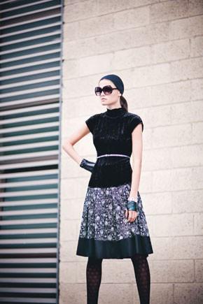 A more feminine Rona Chen style.