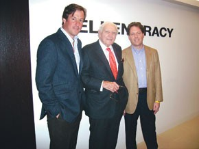 Ellen Tracy's new owners, William Sweedler, Marvin Traub and Stuart Jamieson.