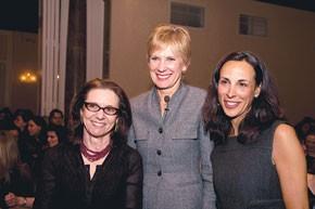 Carlotta Jacobson, Thia Breen and Jill Scalamandre.