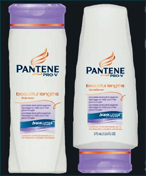 Pantene's Pro-V Beautiful Lengths items.