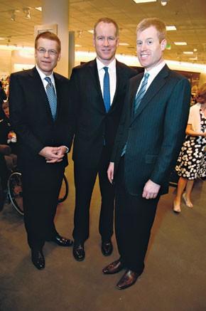 Blake, Pete and Erik Nordstrom.