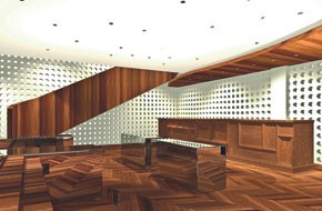 A rendering of the new 3.1 Phillip Lim store in Tokyo.