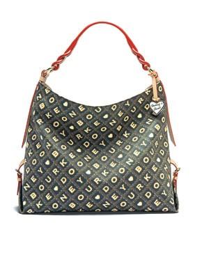 A Dooney & Bourke bag.