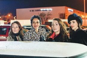 "Audrey Marnay, Farida Khelfa, Annelise Hesme and Suzanne Von Aichinger in ""Paris."""