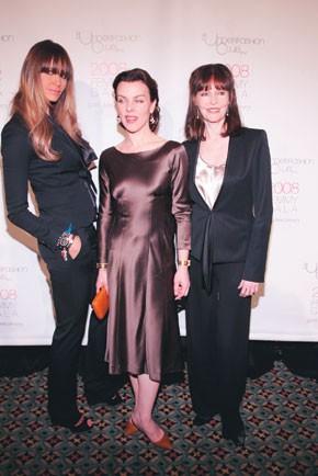Elle Macpherson, Debi Mazar and Barbara Feldon.