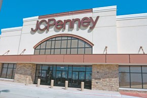 Shoppers are favoring stores such as J.C. Penney that carry more goods.