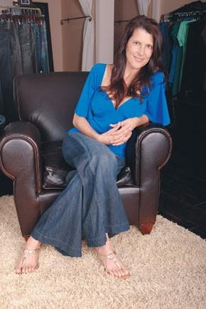Schoolteacher-turned-denim retailer Tiffany Mesko.