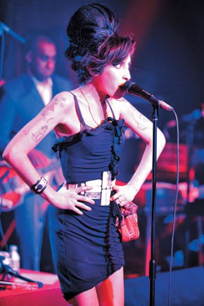 Amy Winehouse onstage