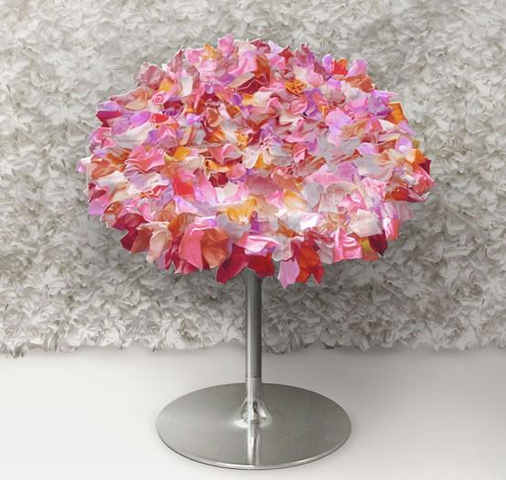 Moroso Bouquet chair by Tokujin Yoshioka.