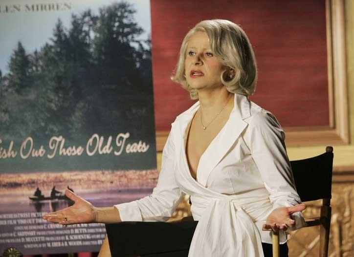 Tracey Ullman as Helen Mirren.