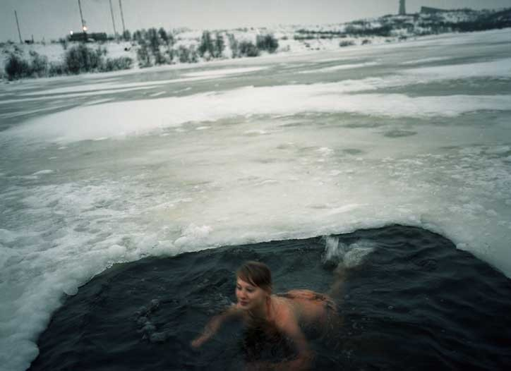 Nataliya in Water, Murmansk, 2007
