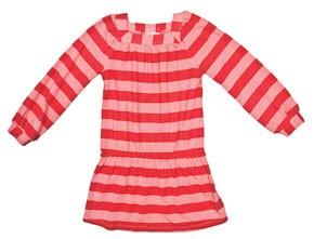 Little Ella's sherbet striped dress.