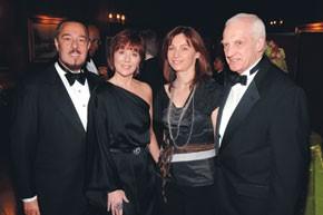 Marc Rosen, Pamela Baxter, Nathalie Grosdidier and Thomas Shutte.