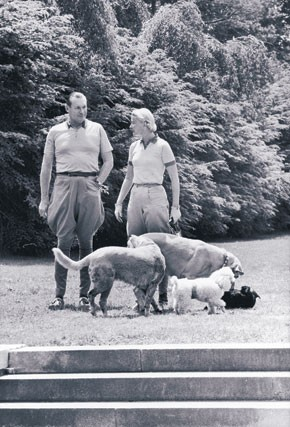 Winston and C.Z. Guest at Templeton.