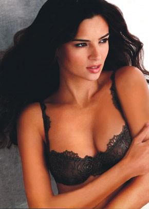 Wacoal Luxe's push-up lace bra.