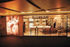 Jimmy Choo's store in Beijing.