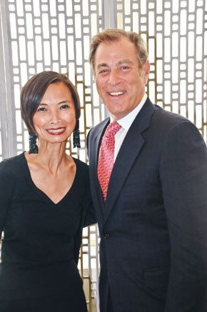 Josie Natori and Neil Katz
