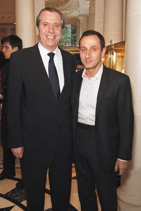 Henri Barguirdjian and Gilles Mendel