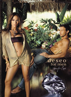 The Deseo for Men ad.