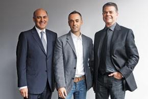 Robert Vignola, Francisco Costa and Tom Murry.