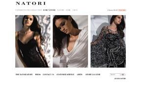The Natori home page.
