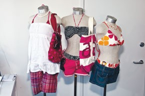 Looks from Aeropostale's summer collection.