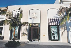 Juicy Couture's retail business is doing well, and added stores like the Beverly Hills flagship in 2007.
