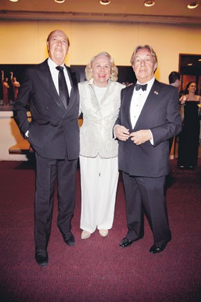 Parker Ladd, Liz Smith and Arnold Scaasi.