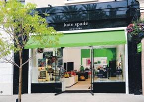 Kate Spade store in Los Angeles.