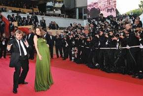 Jack Black and Angelina Jolie at Cannes.