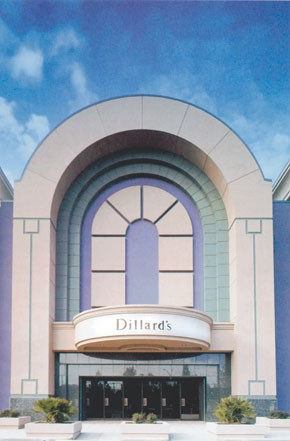 William Dillard 2nd revealed plans to trim the store base and cut capital expenditure by more than 45 percent.