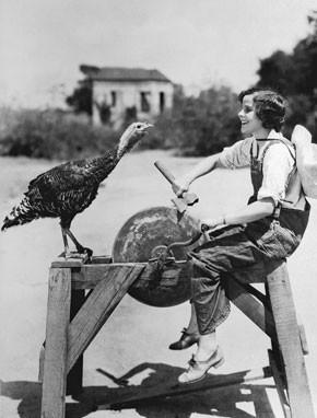 1930: Silent film actress Barbara Kent.